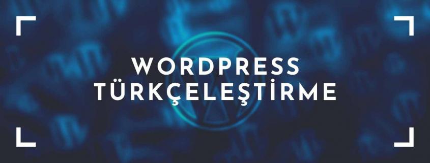 WordPress türkçeleştirme