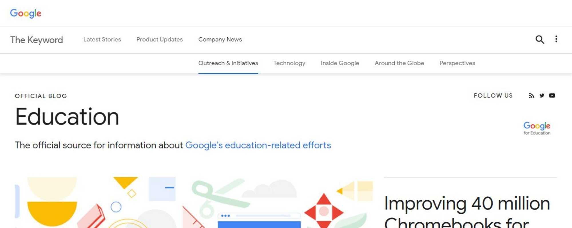 google education blog