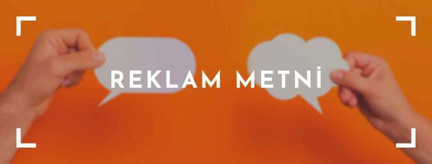Reklam Metni