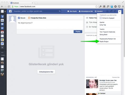 Facebook Sayfası Nedir, Nasıl Açılır ? 2