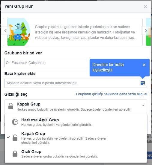 Facebook Grubu Nedir, Nasıl Kurulur ? 3