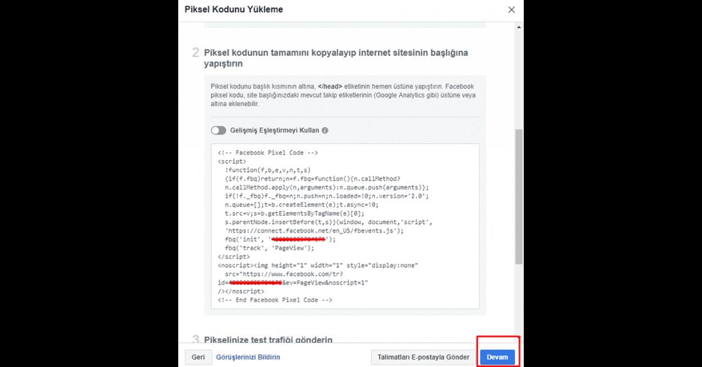 Facebook Pikseli Nedir, Nasıl Kullanılır ? 4