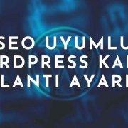 SEO Uyumlu WordPress Kalıcı Bağlantı Ayarları