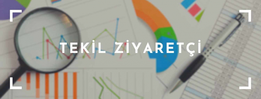 Google Analytics Tekil Ziyaretçi